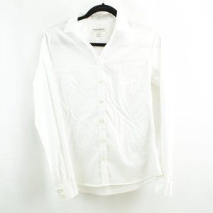Banana Republic Size 6 Non Iron Fitted Blouse